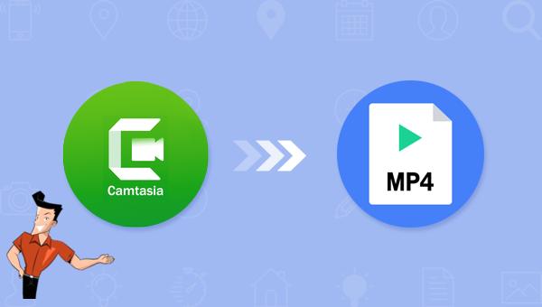 comment convertir un fichier Camtasia en MP4