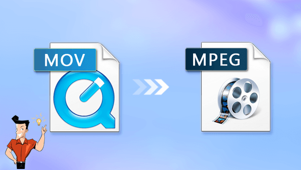 convertir MOV en MPEG