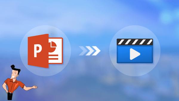 convertir un fichier PowerPoint en vidéo