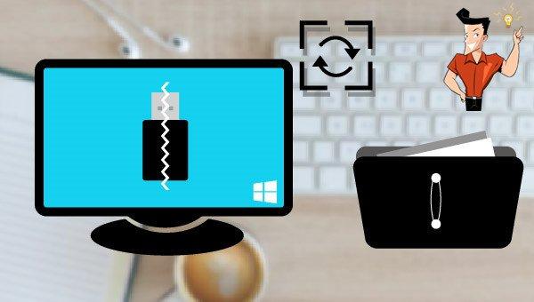 récupérer les fichiers d'une clé USB corrompue