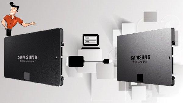 méthode pour cloner un SSD Samsung