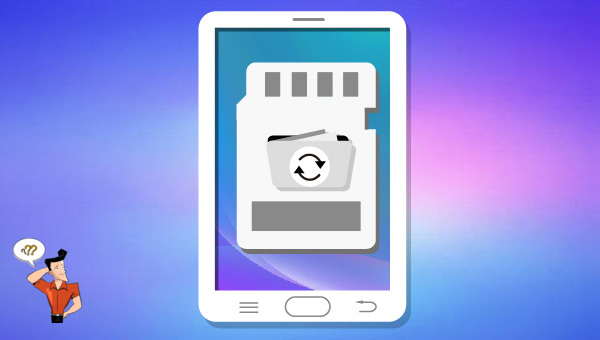 récupérer les données sur la carte SD Android