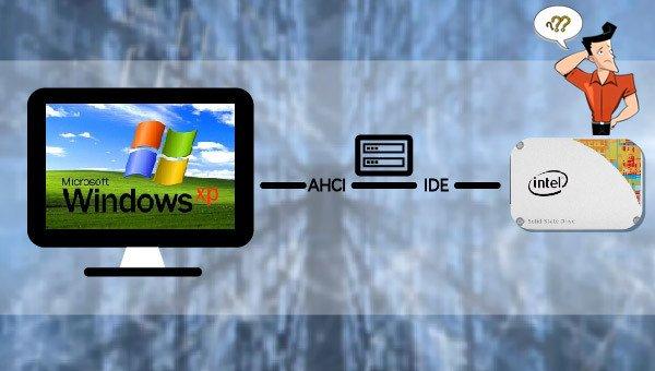 installer Windows XP sur un SSD