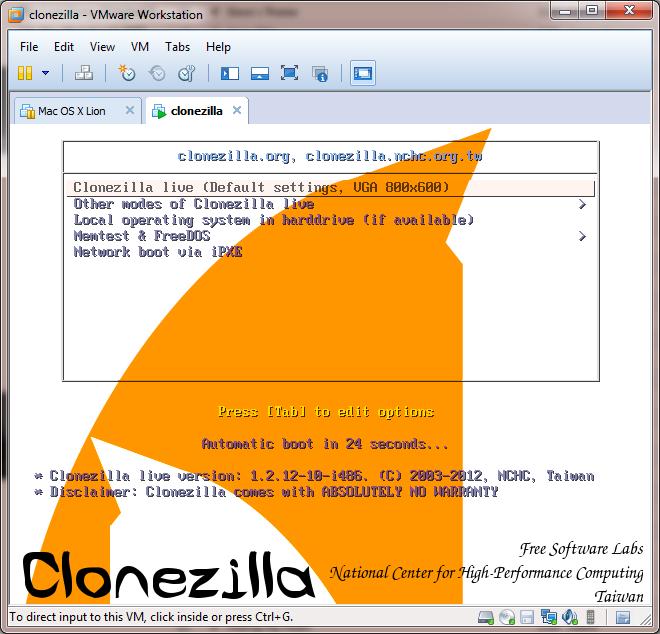 Clonezilla pour cloner un disque dur