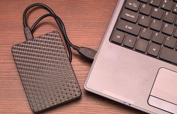 connecter le disque dur externe à un PC