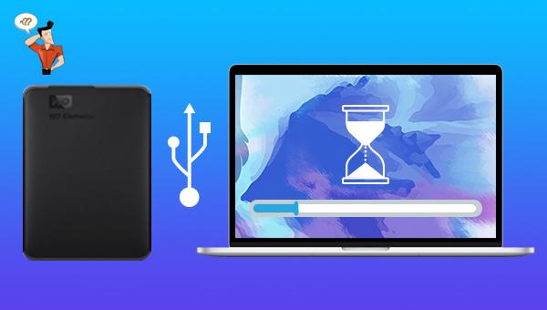 réparer un disque dur externe lent sous Mac
