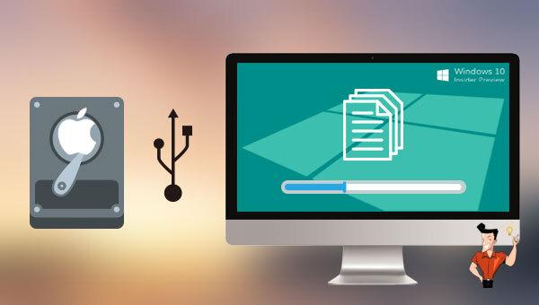 récupérer les données du disque dur Mac sur Windows