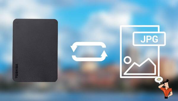 récupérer les photos d'un disque dur externe
