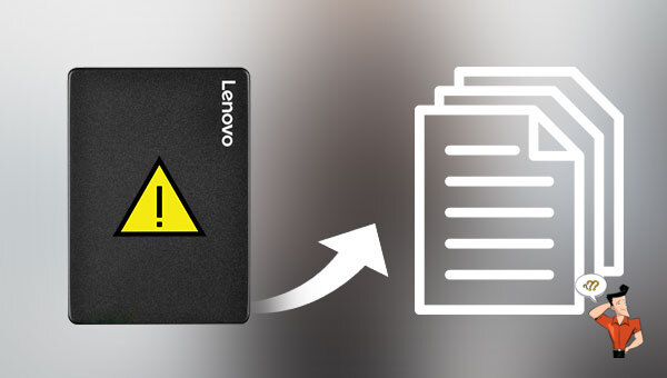 récupérer les données d'un SSD